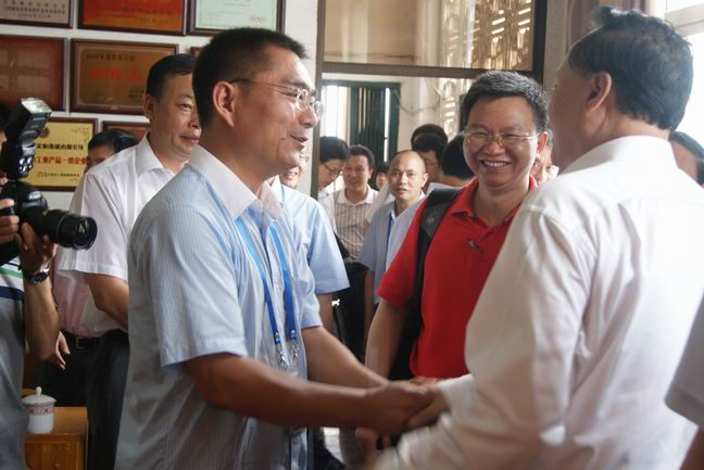 The party secretary of Peaking University – Zhu Shanlu comes to GQD Group